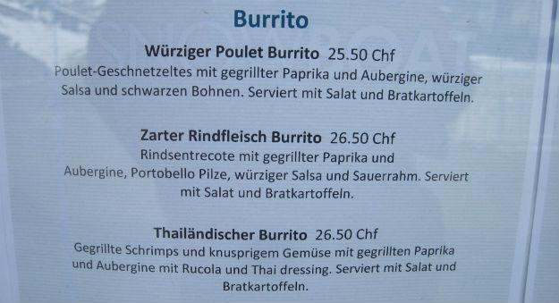 zermatt burrito