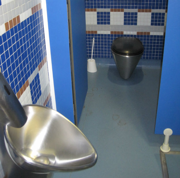 real madrid toilet