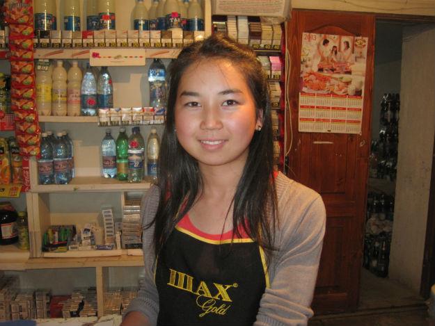 Bokonbaevo Kyrgyzstan girl