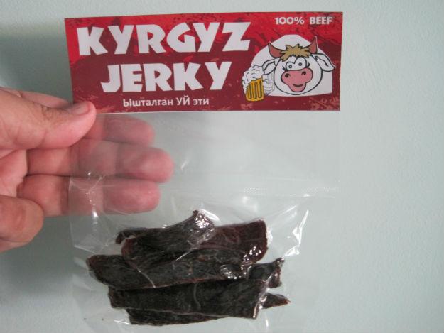 Kyrgyz beef jerky