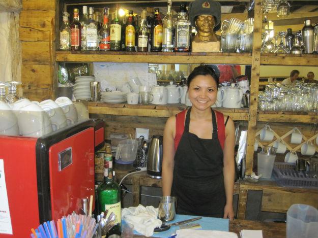 karakol cafe girl