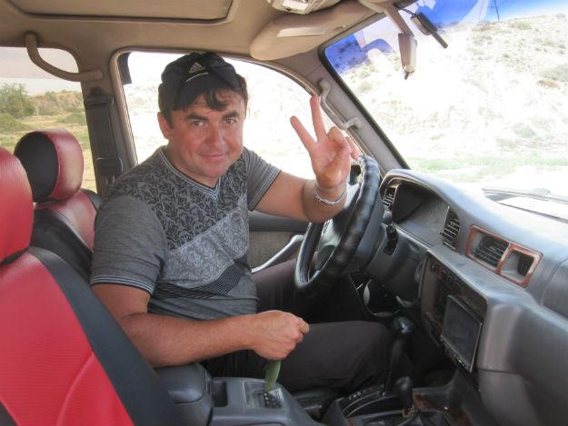 kyrgyz russian driver