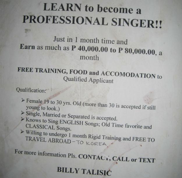 pro singer