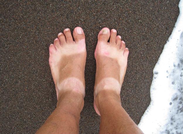 black sand feet