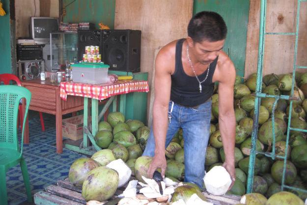 cdo coconut man