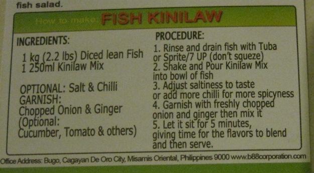 kinilaw recipe