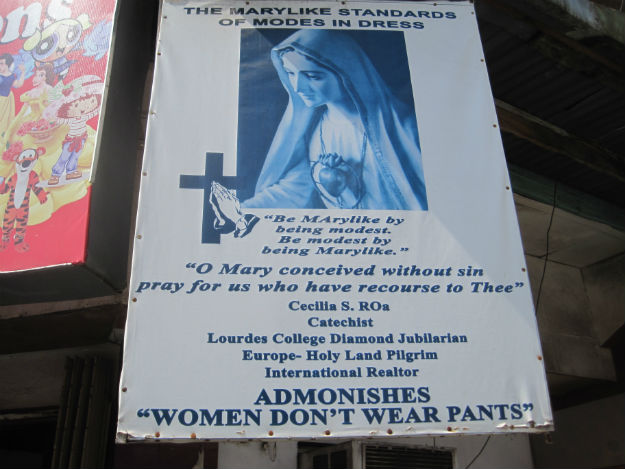 women dont wear pants