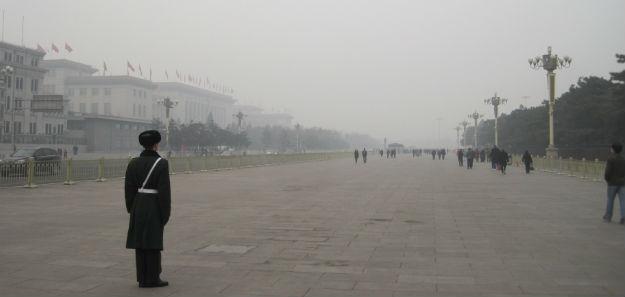 tiananmen haze