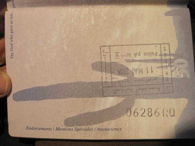 morocco stamp