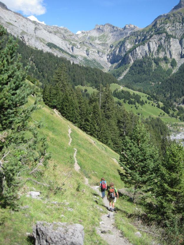 alps with graydon and terri