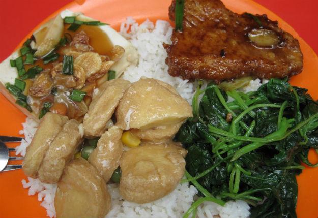 economy rice plate