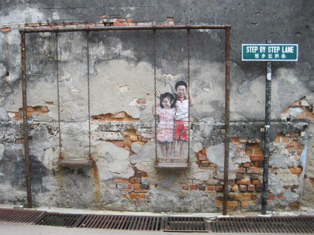 step by step mural