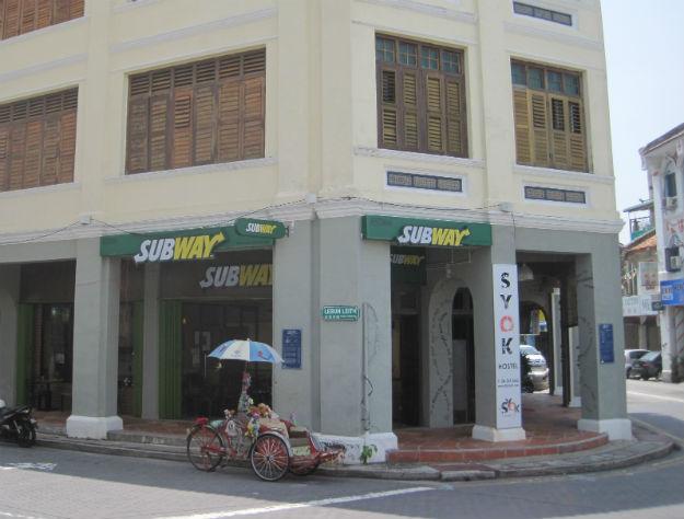 subway penang