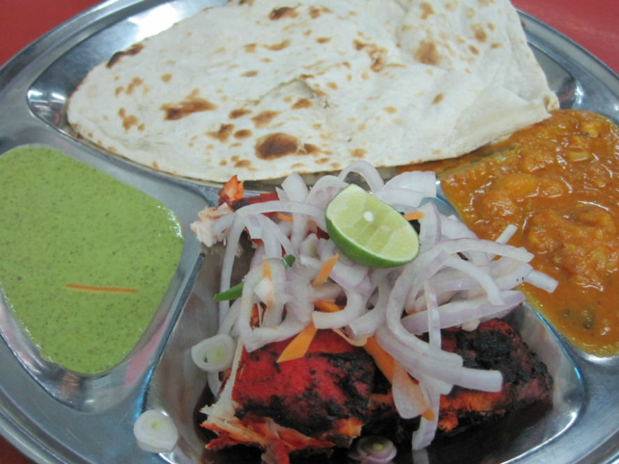 tandoori chicken set