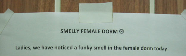 funky smell