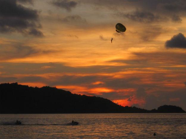 patong sunset jet ski