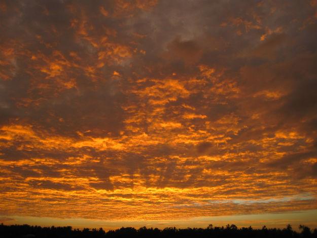 antique sunset