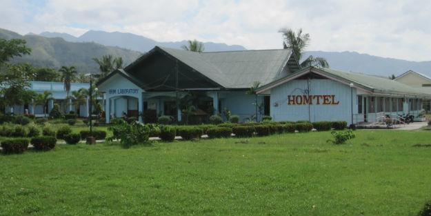 Homtel on University of Antique campus