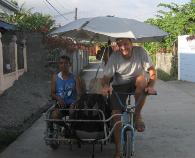 roxas bicycle taxi