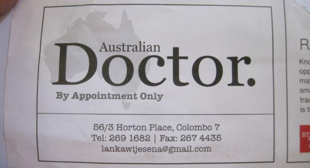 aussie doctor