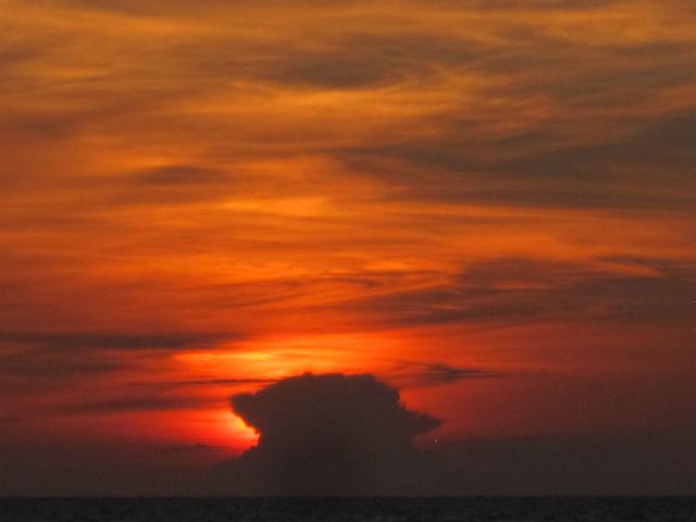 negombo sunset