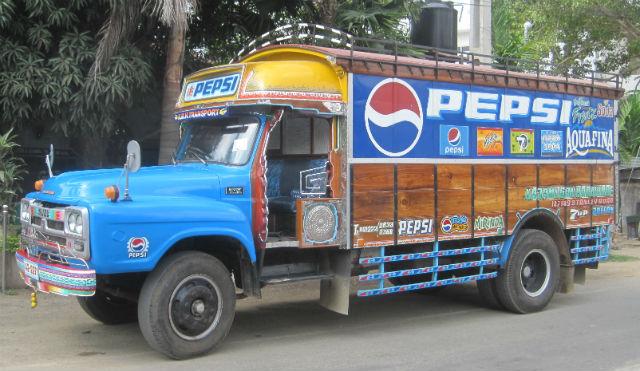 pepsi truck jaffna