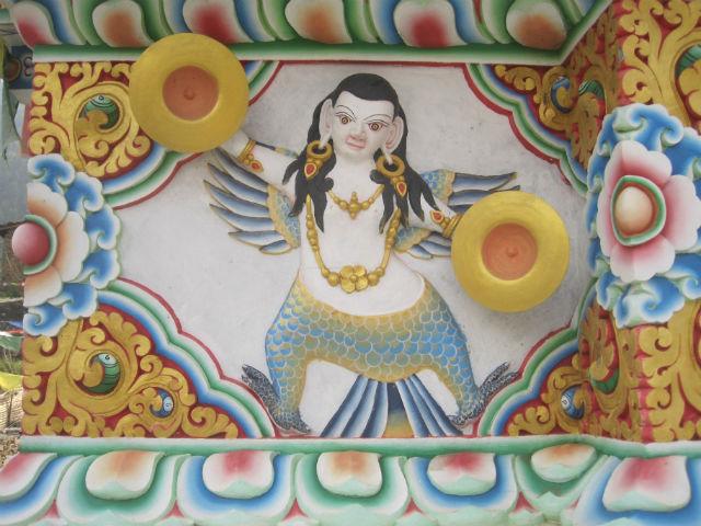 stupa section