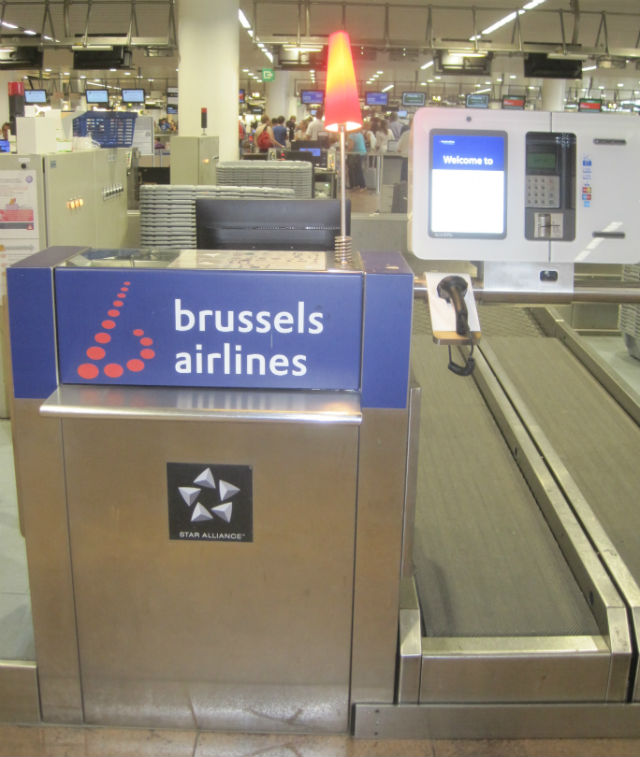 brussels airlines check in