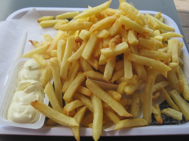 frites medium