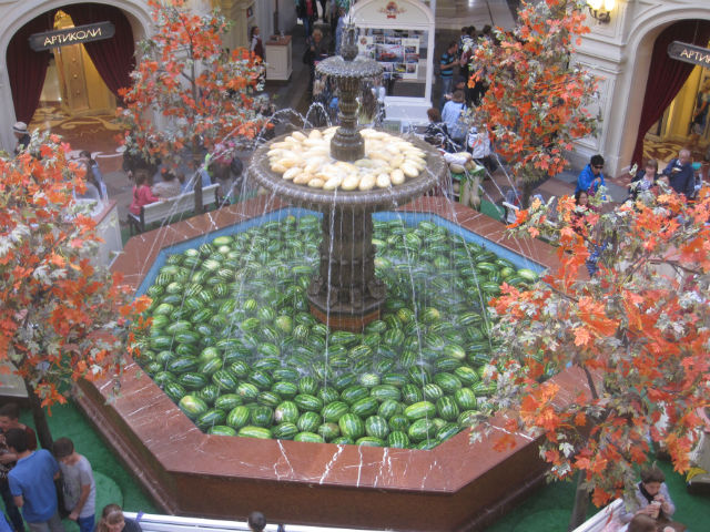 watermelons fountain