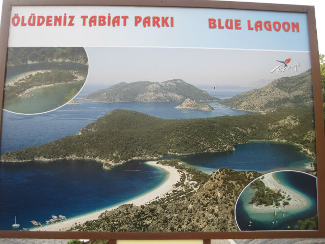 blue lagoon sign