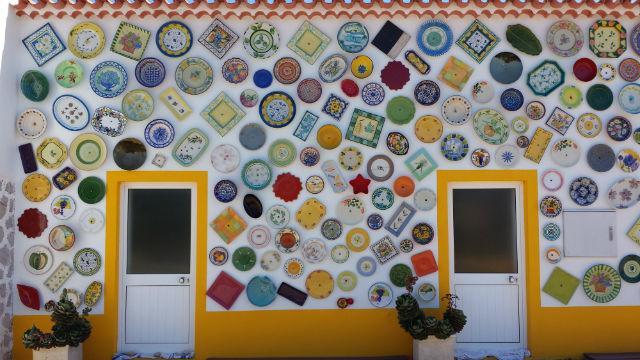 ceramic plates house