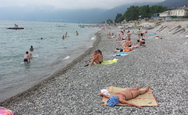 gagra beach