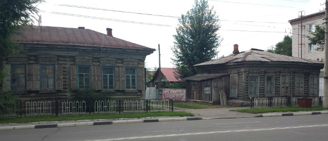 blagoveshchensk wood houses