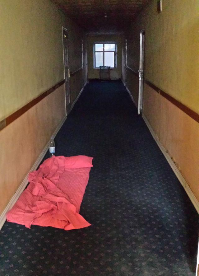 grand hotel hallway