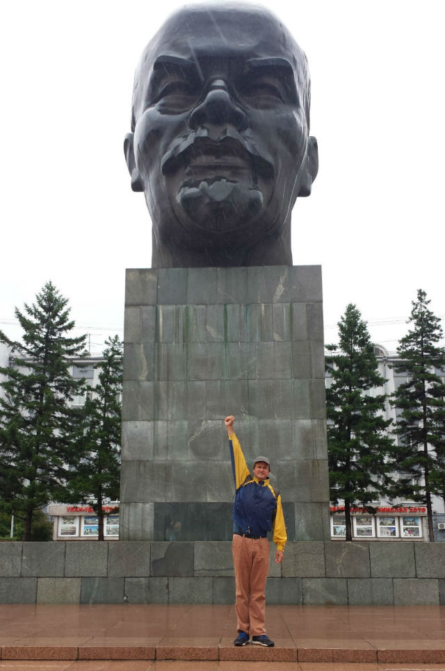 lenin big head