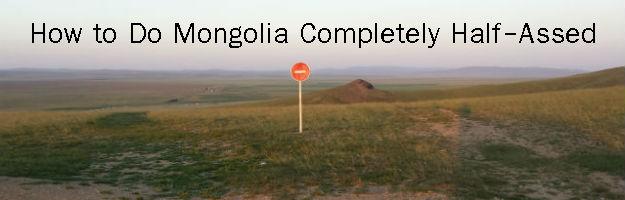 mongolia do not enter sign