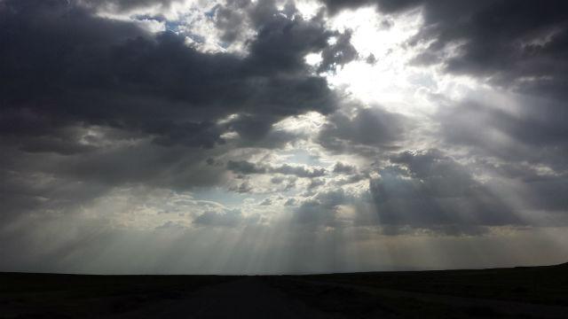 mongolia sunburst