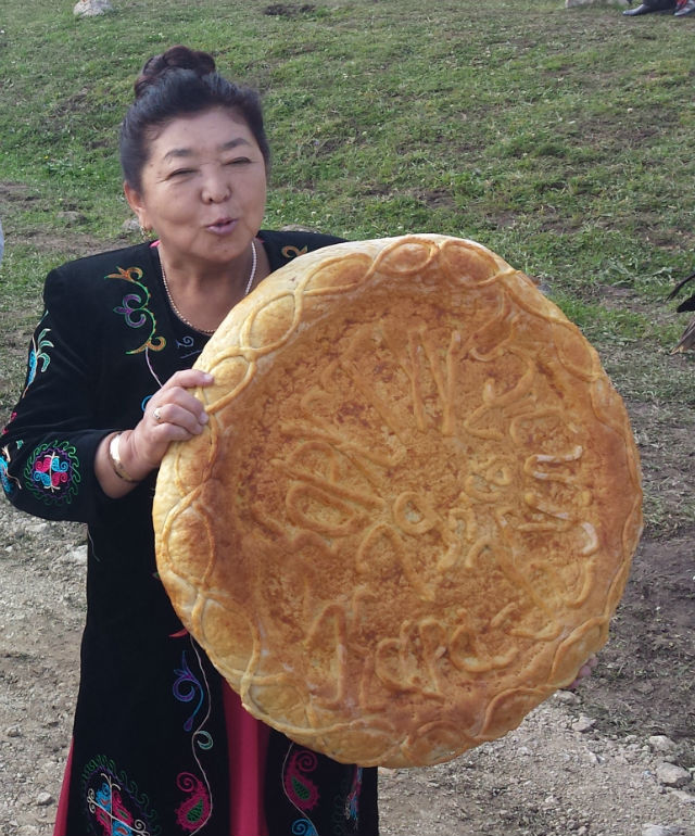 huge bread